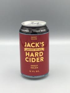 Jack's Hard Cider - Sweet Helen (12oz Can)
